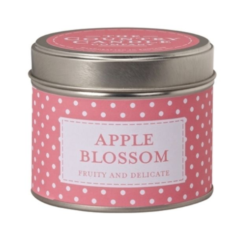 Apple Blossom - Fruity And Delicate Candle In A Tin